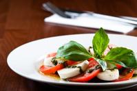 Mozarella salat with pesto