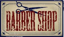 Barber Shop - Retro Sign