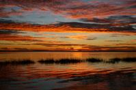 Sunset over Daytona River 2