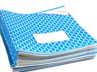 blue notebooks