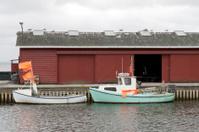 Small Fishing Boats Alongside the Quay
