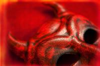 Creepy Devil Mask