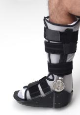 Leg in Ankle Brace