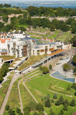 Scottish Parliament From Above
