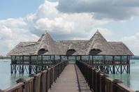Pier in Dar es Salaam, tanzania