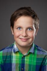 Preteen Boy Expressions - Creepy Smile