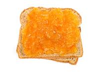 Apricot Preserves Sandwich