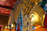 Buddha statue at Wat Arun Bangkok Thailand.