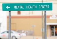 Mental health center sign
