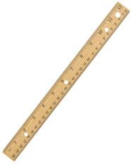 Twelve Inch Ruler