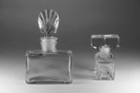 Two perfume bottle
