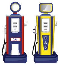 Vector Gas Pumps