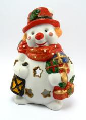xmas snow man