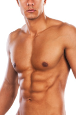 Male fit body