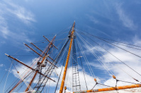 tall ship mast