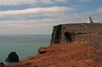 Leuchtturm bei Vik - Island