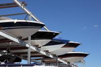 Boat storage rack