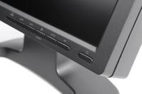 Black LCD monitor