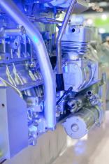 Battery car engine