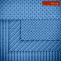 Fabric patterns for website background design. Set