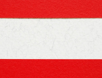 Red and white paper