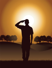 Salute - Military Soldier or Boy Scout