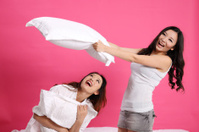 pillow fighting
