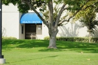 Health center on campus