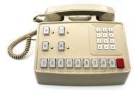 Key system telephone