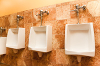 Public urinal - toilet