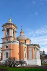 Temple of Great Martyr Varvara on Varvarka. Moscow