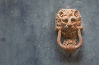 Ancient door clapper