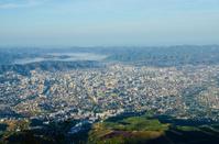Tirana, Albania - view from Mount Dajti