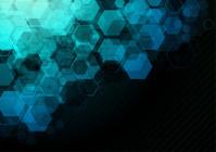 Dark Blue Technical Background