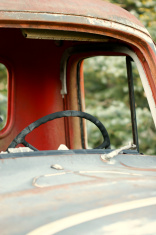 Old truck cab