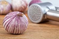 Garlic and press