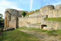 Old castle ruins Kyrburg in Kirn, Germany