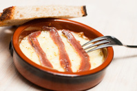 Provolone with anchovies