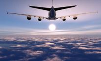 The passenger plane