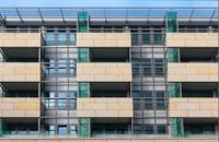 Modern office building in Frankfurt, Germany