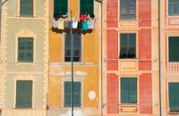 Ligurian houses in Portofino