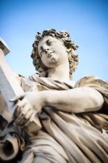 Angel on Ponte Sant'Angelo, Rome Italy