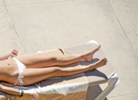 Sunbather's Legs