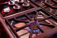 gas cooktop  burner