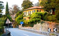 Road to Bellagio, lake Como, Italy