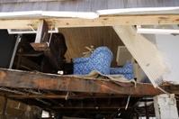 Damage from Hurricane Sandy