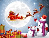 santa claus giving presents - Santa Claus Presents