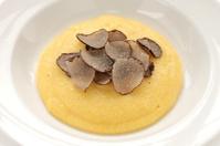 polenta with truffles