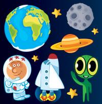 Cute Space Symbols