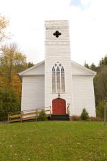 Simple White Church